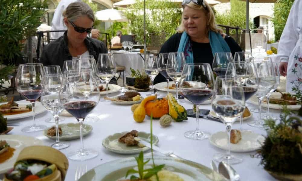 Provence Cooking School Bonnieux lunch