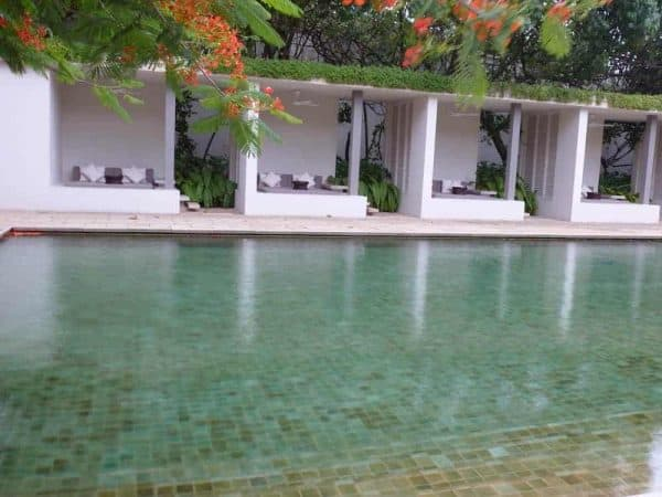 Gems Sri Lanka Tour Amangalla pool