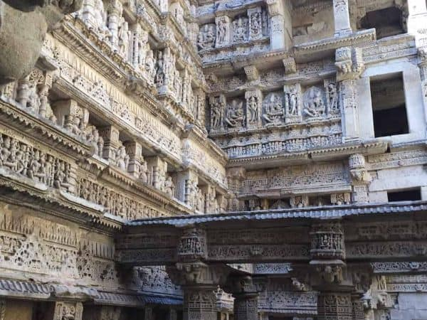 Gujarat Queens stepwell close up