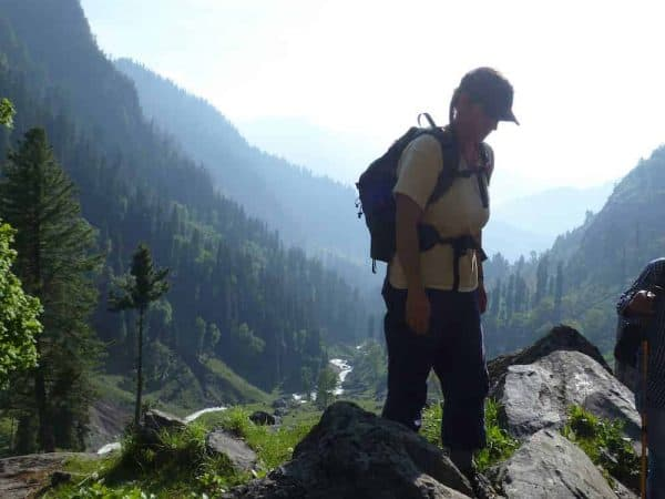 Kashmir Trek Tour Day 9 on top of the world